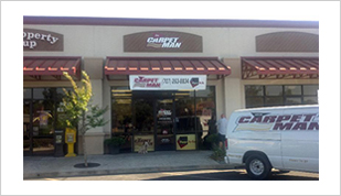 The Carpet Man Lakeport Location.