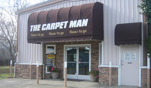 The Carpet Man of Clearlake CA. Your local Floors To Go retail flooring showplace.