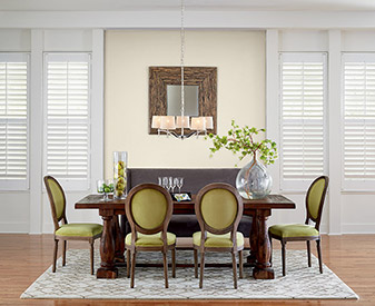 Complete the look of any room with window fashions from The Carpet Man!