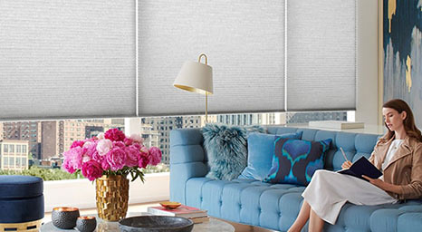 Duette Cellular Shades from Hunter Douglas available at The Carpet Man in Clearlake and Lakeport.
